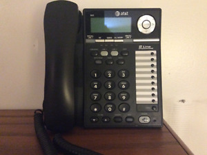 Téléphone 2 lignes AT&T 993