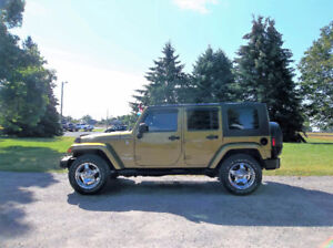 2007 Jeep Wrangler Unlimited 4WD- WOW Just 126K!!  AUTOMATIC