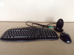 Logitech Cordless Keyboard and Mouse
