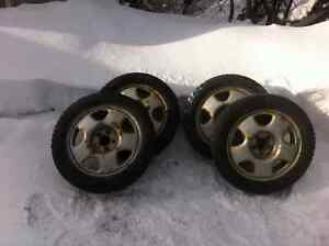 Honda studded tires and Rims