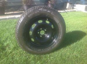 Toyota Corolla tires and rims Moose Jaw Regina Area image 1