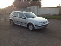24/7 Trade sales NI Trade Prices for the public 2001 VOLKSWAGE Golf 1.6 SE Automatic