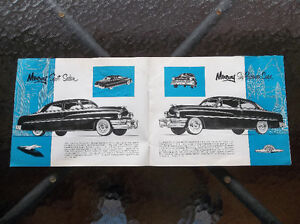 1951 Mercury dealer showroom catalog London Ontario image 2