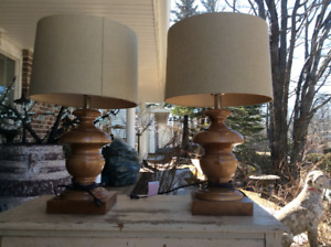 Lovely Two Living Room / Family  Table Lamps