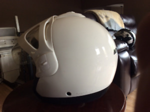 Motocross or quading helmet