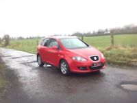 24/7 Trade sales NI Trade Prices for the public 2006 Seat Altea 1.9 TDI Stylance Motd August 18 Red