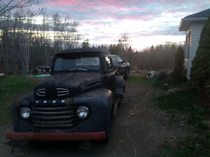 Looking for parts 1950 f47 truck