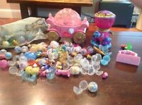 Squinkies - little mermaid, Cinderella and more