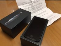 New 64gb unlocked iphone 5 black
