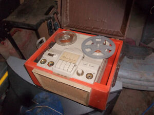 antique reel to reel tape recorder