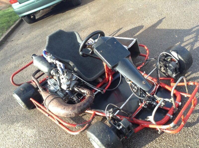 Honda Cr250 Go Kart Shifter Kart Two Stroke In Castle