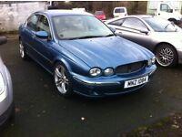Jaguar x type spare or repair