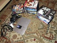 PS2 for sell+ 23 Games + 64MB card + 1Joystick