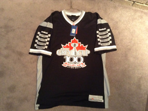 CFL 100th anniversary Grey Cup jersey BNWT