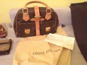 New Authentic Louis Vuitton Manhattan purse with receipt