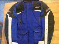 Motorcycle jacket. Size X large.
