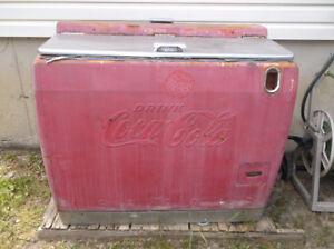 Vintage Coca-Cola - glacière Coke