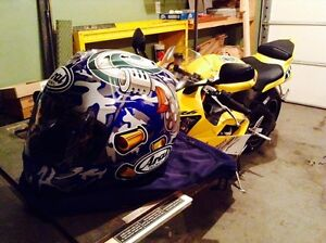 Arai RX-7 Corsair Helmet Tommy Gun