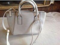New look ladies shoulder hand bag beige used £3 good condition