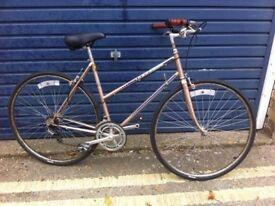 Peugeot 1980's ladies bike -serviced-