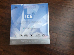 Brand New Therm-A-Sleep ICE Mattress Protector ~ King Size