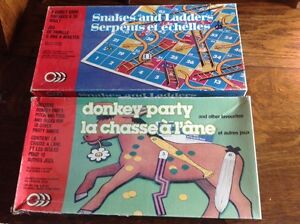 Pin the tail on the donkey & snakes and ladders games  Regina Regina Area image 1