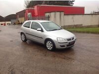 24/7 Trade sales NI Trade Prices for the public 2005 Vauxhall corsa 1.2 SXI Twinport low miles