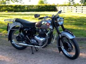 BSA Super Rocket 1958 650cc A Excellent Example!! Classic British Motorcycle!