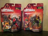 Small soldiers , action figures , 1998 movie toys