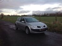 24/7 Trade sales NI Trade prices for the public 2007 Renault Megane 1.6 Expression low miles 40.000