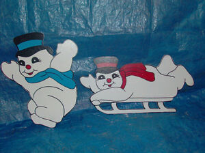 Wooden Christmas Lawn Decorations /Ornaments London Ontario image 6