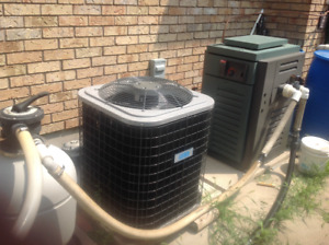 Swimming pool heater repair and installation