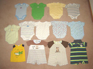 Boys Clothes, Sleepers, Overalls, Pram - 6, 6-12, 12, 12-18 m