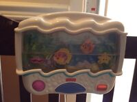 Fisher price play mobile for crib
