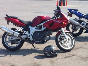 Red 2001 SV 650S For Sale OR For Trade