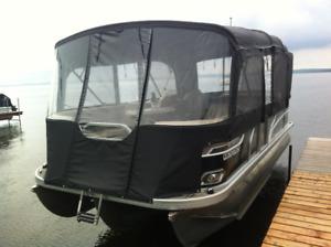 ponton Vectra 2018 avec pattes hydraulique intégré