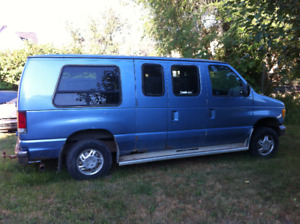 Wheelchair/Handicap Van