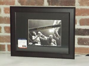 Earnie Shavers BOXING SIGNED 8X10 PHOTO
