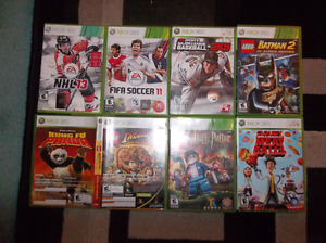 Sports and kids xbox 360 games