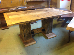 Harvest Table For Sale From Our Showroom Tax Included
