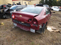 PARTING OUT ONLY 2008-2011 Chev. Malibu