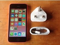 IPHONE 5C 16GB PINK ON O2 NETWORK
