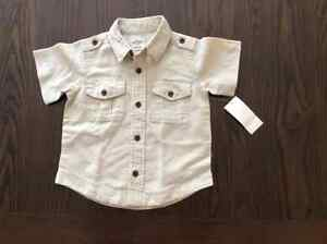 BNWT: Baby boys shirt size 18-24 months Kitchener / Waterloo Kitchener Area image 1