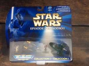 "Star Wars Micro Machines ""Collection I, II, III and IV"""