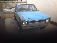 Ford Escort mk1 Mexico Rolling Shell