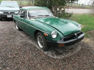 1977 mgb resto project for sale/trade