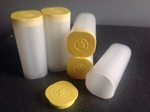 Empty coin tubes from RCM