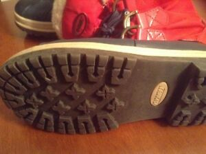 Red and navy  Winter boots great condition  London Ontario image 1