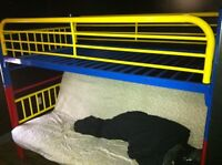 Kids bunk bed and futon *frame only*