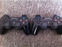 X2 playstation 3 controllers